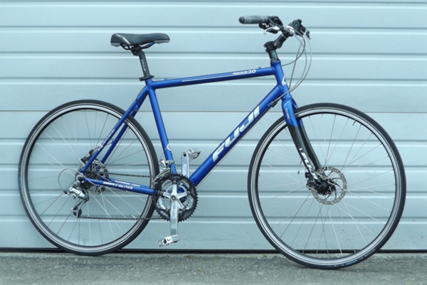 "21"" FUJI Absolute 2.0 Aluminum Carbon Utility Bike ~5'10""-6'1"""