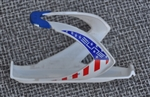 Elite Custom Race fiberglass bottle cage USA flag