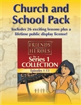 Friends and Heroes DVD Series 1 Church and School Pack Multi-Language