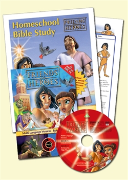 Friends and Heroes Series 1 Homeschool Bible Study