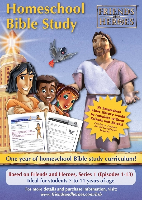 Friends and Heroes Series 1 Homeschool Bible Study Curriculum Risk-free  Trial Upgrade Pack
