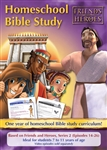 Friends and Heroes Series 2 Homeschool Bible Study Curriculum