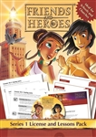Friends and Heroes License and Lessons Pack Series 1