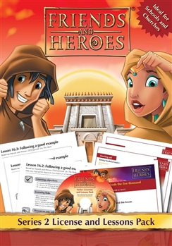 Friends and Heroes License and Lessons Pack Series 2