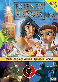 Friends and Heroes Episodes 1 & 2 DVD