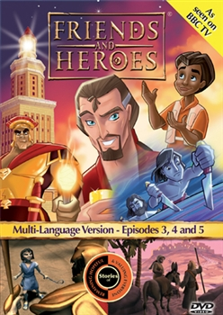 Friends and Heroes Episodes 3, 4 and 5 DVD