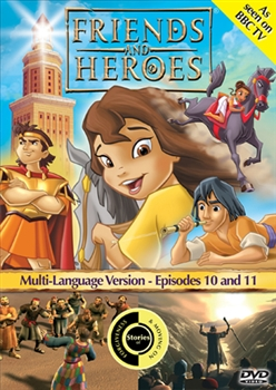Friends and Heroes Episodes 10 & 11 DVD
