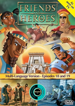 Friends and Heroes Episodes 18 & 19 DVD