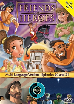 Friends and Heroes Episodes 20 & 21 DVD