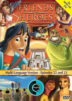 Friends and Heroes Episodes 22 & 23 DVD