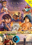 Friends and Heroes Episodes 24, 25 & 26 DVD