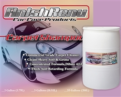 Carpet Shampoo - 55 Gallons