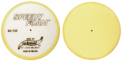 Pad Foam Flat Yellow - 8 inch.