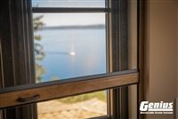 Genius Incognito2 Retractable Window Screens for wood windows