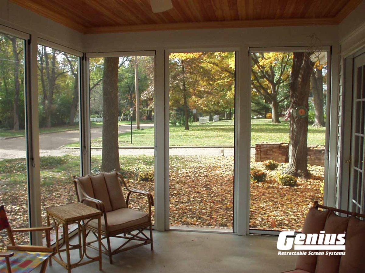 Genius Sierra 800 Retractable Screens Are Ideal For Larger Openings