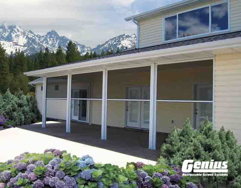 Genius Sierra 800 Retractable Screens Are Ideal For Larger