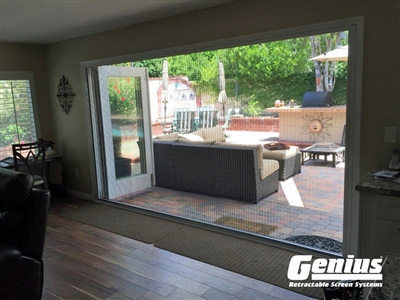 Genius ZIGZAG Pleated Retractable Screen