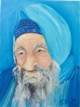 Artist's portrayal of Baba Sali