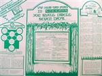 "Poster - ""What to do in a Sukkah"""