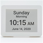 Premium Day Clock with Alarm Reminders