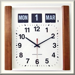 Wall Flip Clock with Day and Date Clock - Canada