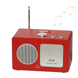Simplified MP3 Music Player + Radio