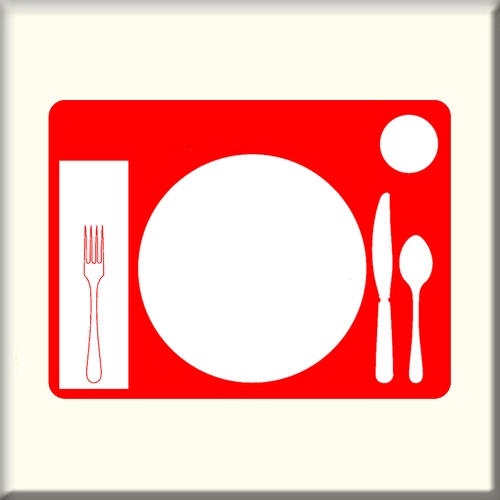 Table Setting Nonslip Placemat I Dementia Alzstore
