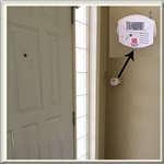 Wander Alert Door Exit Alarm One Motion Sensor + One Pager