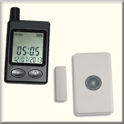 Two Door Monitor Signal to Pager