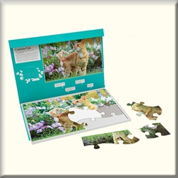 curious cat puzzle activity for dementia canada