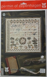 Permin of Copenhagen - Sampler - 1827