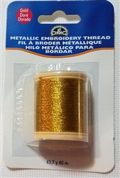 DMC Gold Metallic Thread - 284Z