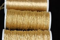 390-040 - No. 6 Twist - Gilt - Per yard