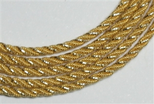 390-065-18 - Medium Grecian Twists - Gilt - Per 18""
