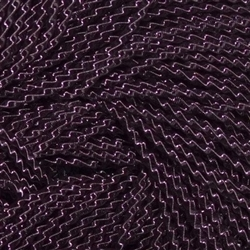 "Dark Purple Coloured Wire Check No 6 - Per 18"" cut"