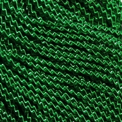 "Supa Emerald Green Coloured Wire Check No 6 - Per 18"" cut"