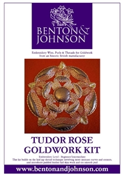 Tudor Rose Goldwork Kit