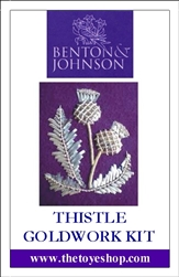 Thistle Goldwork Kit
