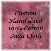 Custom Colored Fabrics - Aida Cloths