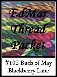 Buds of May - Edmar Threads Packet #102