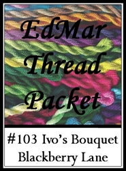 Ivo's Bouquet - Edmar Threads Packet #103