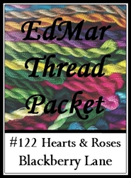 Hearts and Roses - Edmar Threads Packet #122