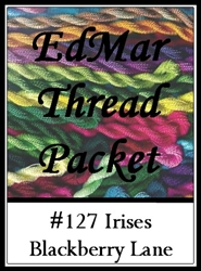 Irises - Edmar Threads Packet #127