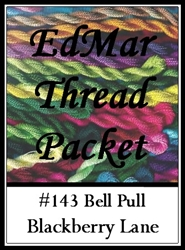 Bell Pull - Edmar Threads Packet #143