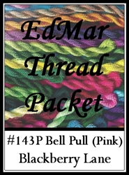 Bell Pull - Edmar Threads Packet #143 Pink