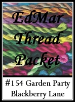 Garden Party - Edmar Threads Packet #154