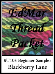 Beginner Sampler - Edmar Threads Packet #T105