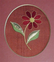 Alison Cole Embroidery -Beginners Daisy