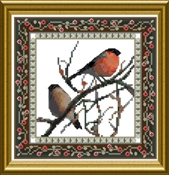 Bird Tapestries 1 - Bullfinch