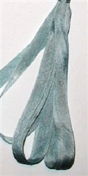 Dinky Dyes Silk Ribbon - Blue Ice